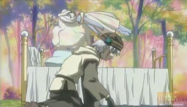 An einem Ort, den nur Maho und Tsukasa kennen schwebt ein geheimnisvolles M�dchen